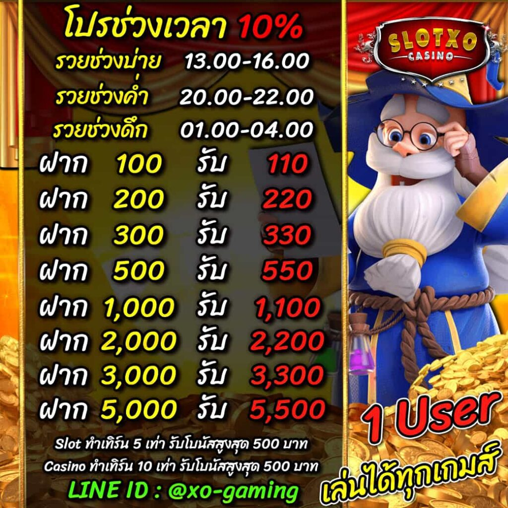 slotxo-casino-bonus-time10